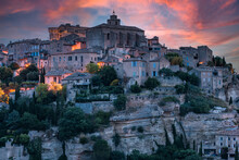 Gordes Town In Provence,France...