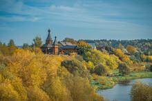 Autumn Landscape With Church A...