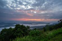 View See Mist Sri Nan National Park Doi Samer Dao Nan Province Thailand