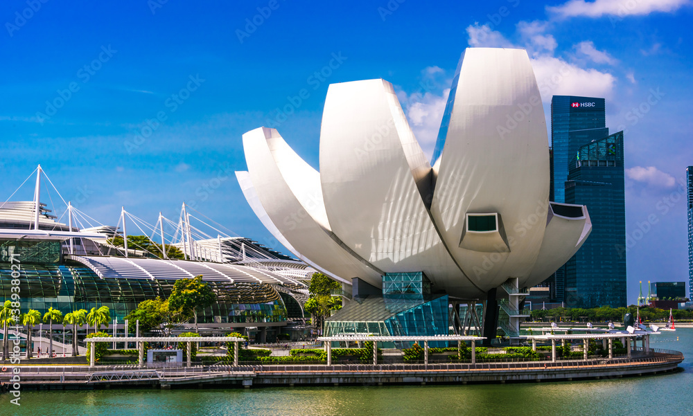 ArtScience Museum at Marina Bay Sands in Singapore