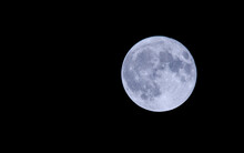 Blue Moon On Halloween Day 2020 Also Called A Hunters Moon