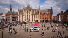 Bruges, Belgium - May 12, 2018...