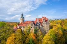 Aerial View Of Czocha Castle S...