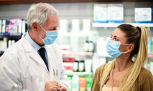 Senior Pharmacist Dealing With...
