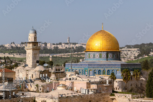 the dome of the rock Fototapet