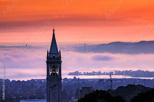 Tela Sather Tower in UC Berkeley, California