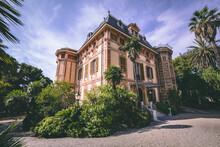 Villa Nobel In Sanremo, Italy....