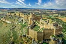 Aerial View Of Gormaz Castle I...