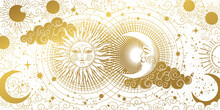 Magic Banner For Astrology, Ta...