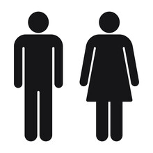 Man And Woman Avatar Icon Set....