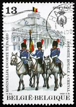 Postage Stamp Belgium 1988 Royal Mounted Guard