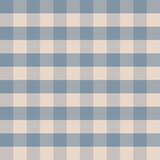 Blauw met witte tartan naadloos vector patroon  - 389606223