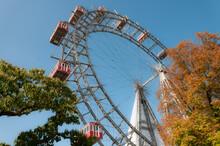 Ferris Wheel In Prater
