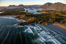 Landscape Of Tofino Covered In...