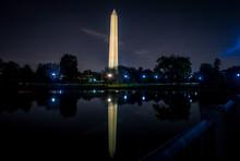 Washington Monument Reflected ...