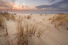 Sand Dunes In Kaliningrad. Nat...