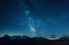 The Milky Way Over The Swiss A...