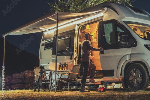 Valokuva Motorhome RV Park Camping
