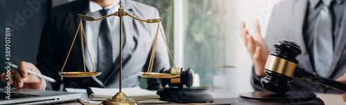 Photo justice and law concept
