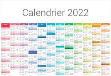 Calendrier 2022 12 Mois Au For...