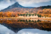 Beautiful Panorama Of Mountain...