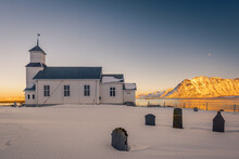 The Small Wooden White Church ...