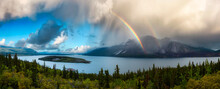 Panoramic View Canadian Nature...