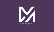 Alphabet Letters Initials Monogram Logo MA, AM, M And A