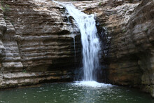 Closeup Shot Of A Small Waterfall In Lastiver, Armenia