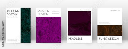 Cuadros en Lienzo Abstract cover. Resplendent design template. Sumin