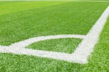 Corner Kick On The Football Fi...