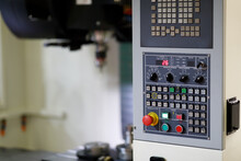 Control Panel Of CNC Milling M...