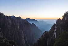 Sunset Landscape Of Xihai Gran...