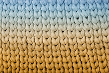 Knitting With Thick Thread Background Image