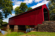 Sachs Covered Bridge Surrounde...