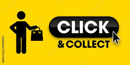 Photo Click and collect - achat en ligne pour retirer en boutique - solution pour les