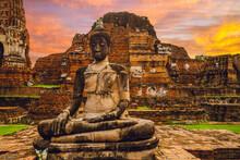 Buddha Statue At Wat Mahathat,...