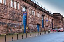 Carlisle , Cumbria / England - 11 03 2020: Carlisle Market Hall In Town Centre