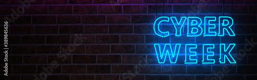 Neon Sign Cyber Week