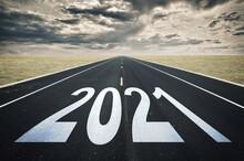 2021 Road Perspective, Dark Cl...