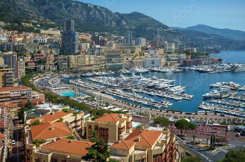 Photo Principauté de Monaco  : port hercule
