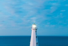 Lighthouse On The Coast Of New...