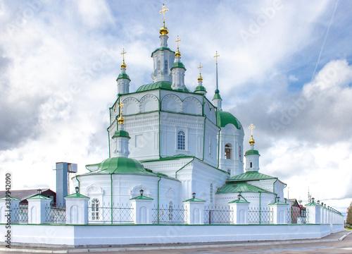 Epiphany Church in Eniseisk Fototapet