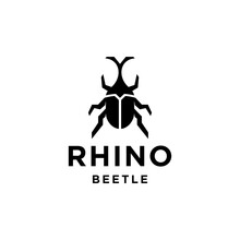 Rhinoceros Beetle Logo Vector ...