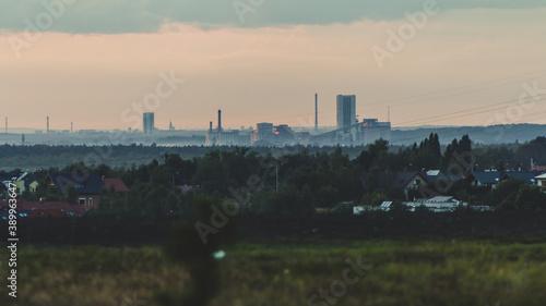 Obraz A hard coal mine in Upper Silesia - fototapety do salonu