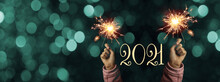 Happy New Year 2021 Background...