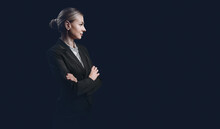 Business Woman, The Concept Of...