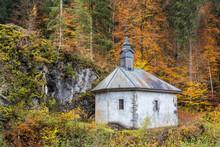 Autumn Chapel At Samoens In Th...