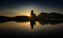 Ardvreck Castle Sunset