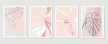 Minimal Pink Tropical Wedding ...